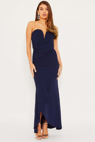 TFNC Sybil Navy Maxi Dress