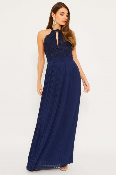 TFNC Madison Navy Maxi Dress