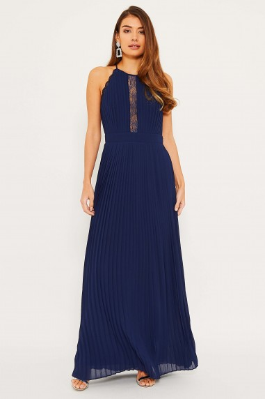 TFNC Haven Navy Maxi Dress