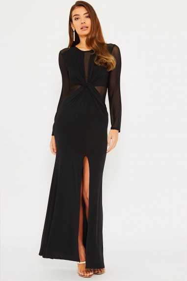 TFNC Rafaelle Black Maxi Dress