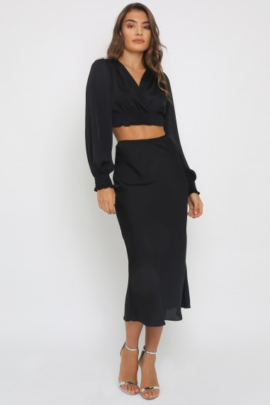 TFNC Thessa Black Skirt
