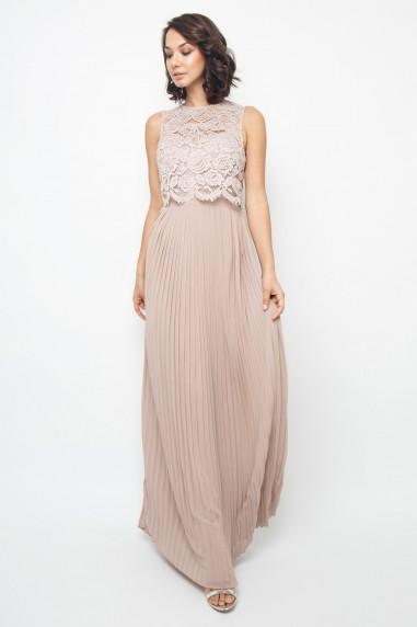 02a126551 TFNC Camden Mink Maxi Dress