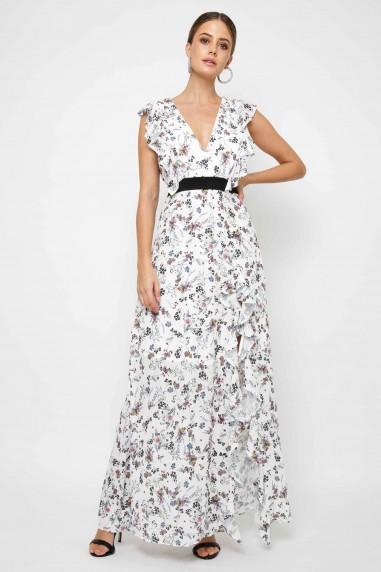 TFNC Satya Floral Maxi Dress
