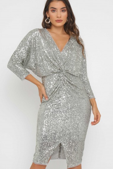 TFNC Veda Sequin Midi Dress