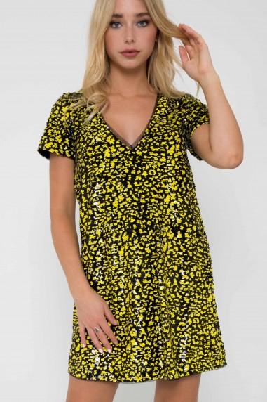 TFNC Tana Black Tunic Dress