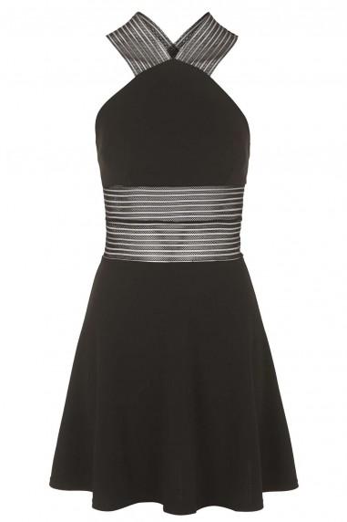 TFNC Kamia Black Dress