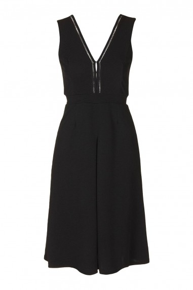 TFNC Nadege Black Midi Dress