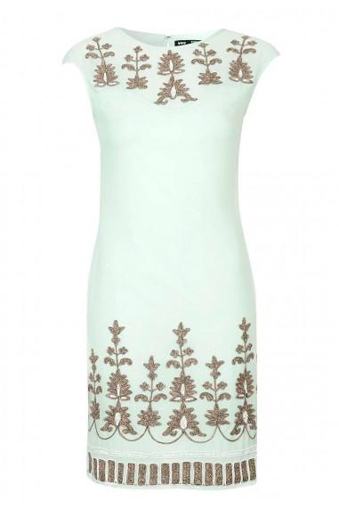 Lace & Beads Lana Mint Dress
