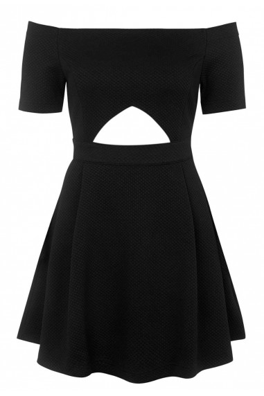 WalG Off The Shoulder Cut Out Dress
