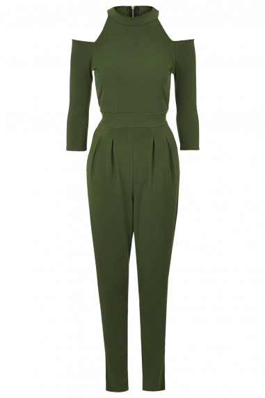 WalG Cut Out Green Jumpsuit