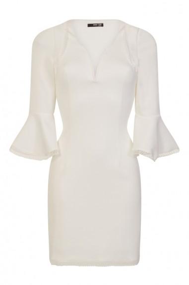 TFNC Amisha White Dress