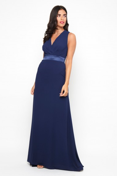 TFNC Tressa Navy Maxi Dress