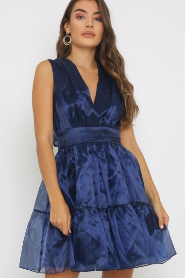 TFNC Pietra Navy Mini Dress