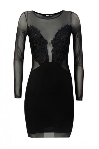 TFNC Uma Black Mini Dress