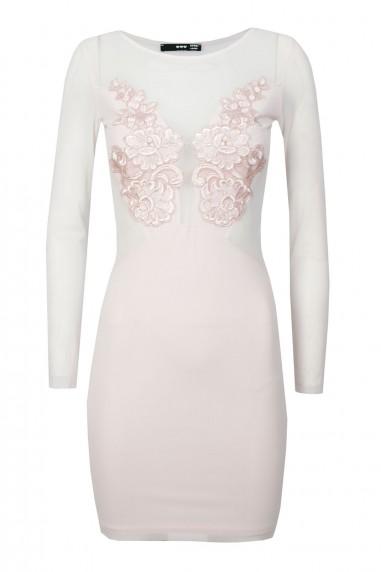 TFNC Uma Pink Mini Dress