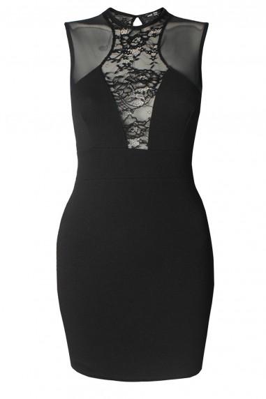 TFNC Ilia Black Mini Dress
