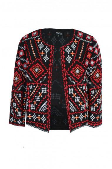 Lace & Beads Penna Black Jacket
