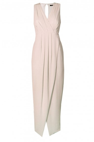 TFNC Dixie Nude Maxi Dress