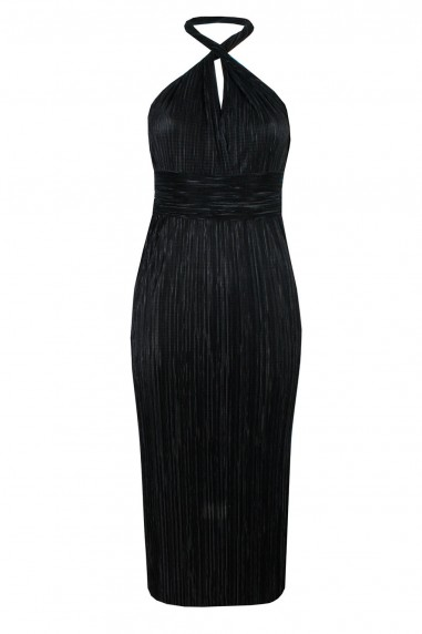 TFNC Elham Multi Way Black Midi Dress