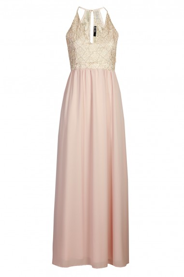 TFNC Djamilla Pink Maxi Dress