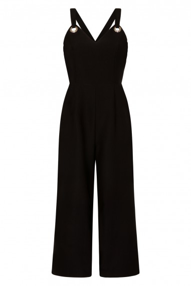 TFNC Daphnee Black Jumpsuit