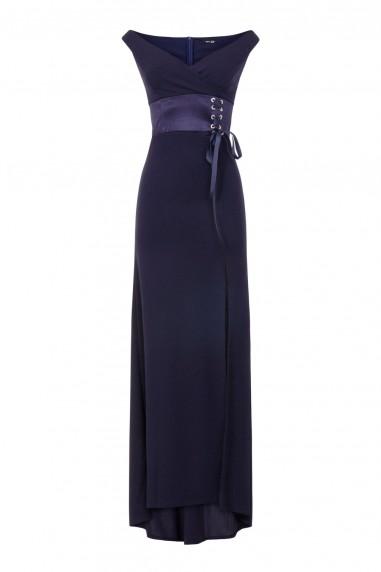 TFNC Nuriya Navy Maxi Dress