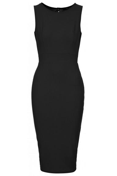 TFNC Alexandra Black Midi Dress