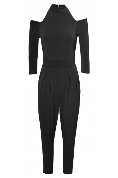 WalG Cut Out Black Jumpsuit
