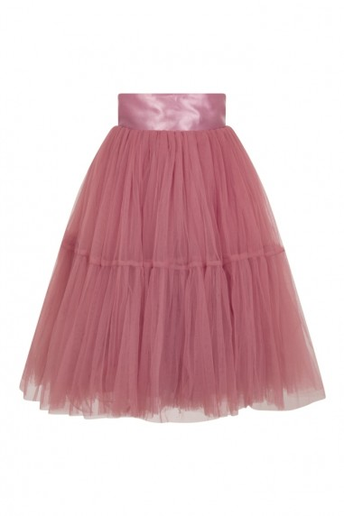Lace & Beads Eviau Dusty Rose Skirt