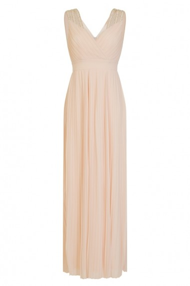TFNC Esme Maxi Nude Dress