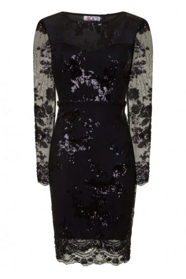 WalG Sequin Round Neck Midi Dress