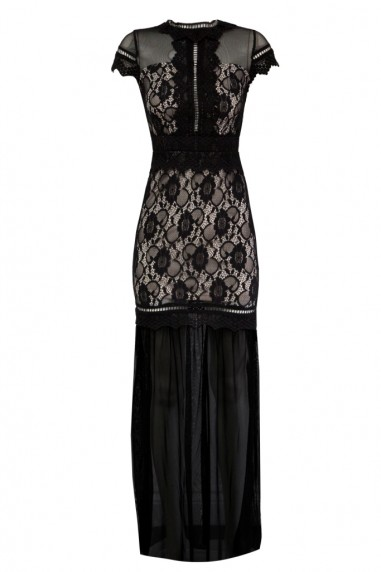 TFNC Katrina Black Maxi Dress