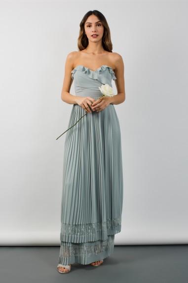 TFNC Glory Green Lily Maxi Dress