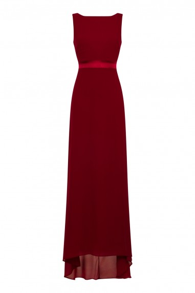 TFNC Halannah Winter Wine Maxi Dress