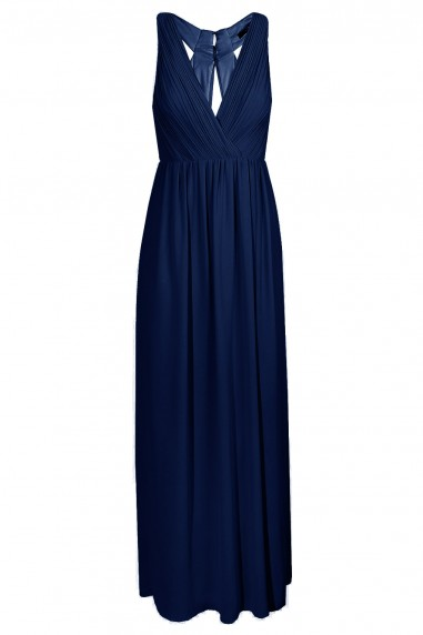 TFNC Cannes Navy Maxi Dress