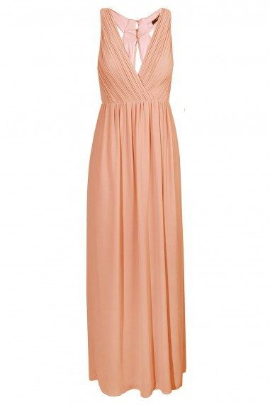 TFNC Cannes Peach Maxi Dress