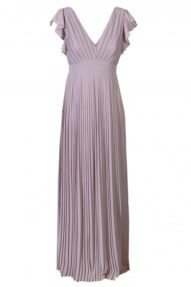 TFNC Lyon Grey Maxi Dress