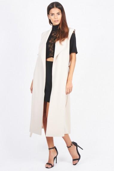 TFNC Tasha Beige Waistcoat
