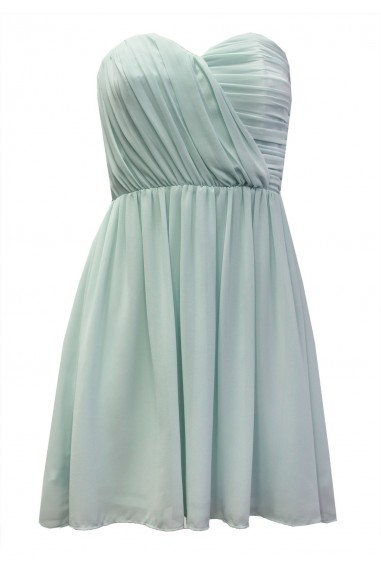 TFNC Anabella Mint Chiffon Dress