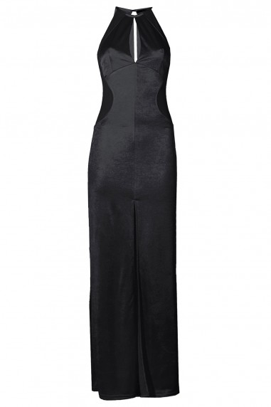 TFNC Abbie Black Maxi Dress
