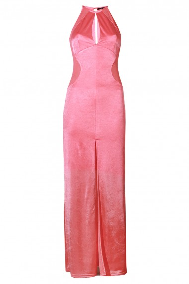 TFNC Abbie Pink Maxi Dress