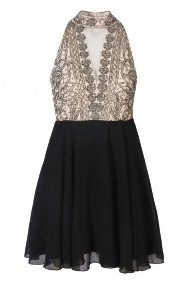 Lace & Beads Acadia Black Dress