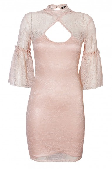 TFNC Daren Nude Dress