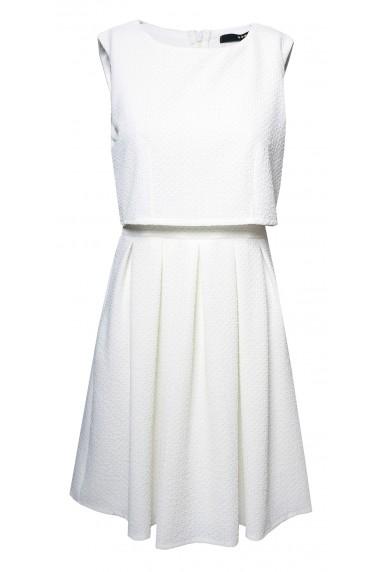 TFNC Aliciana White Day Dress