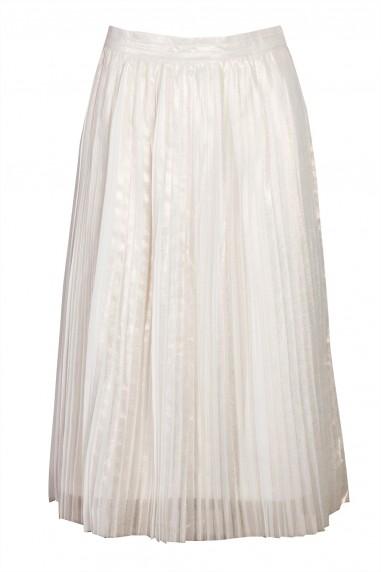 TFNC Kinolt Cream Skirt