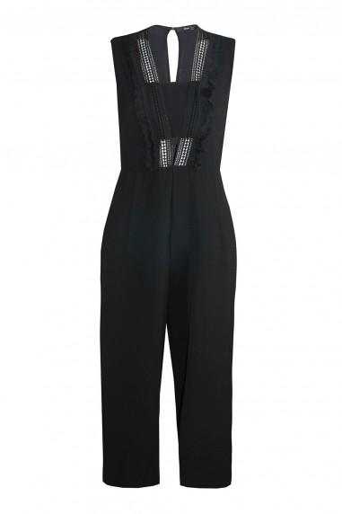 TFNC Yua Black Jumpsuit