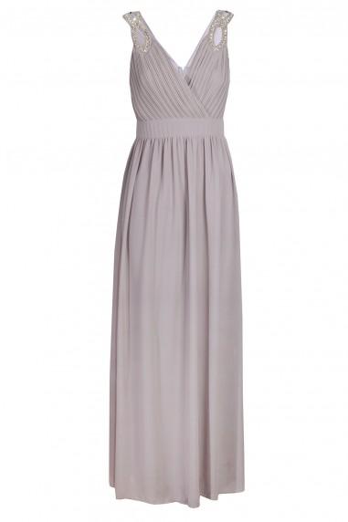 TFNC Debby Maxi Grey Dress