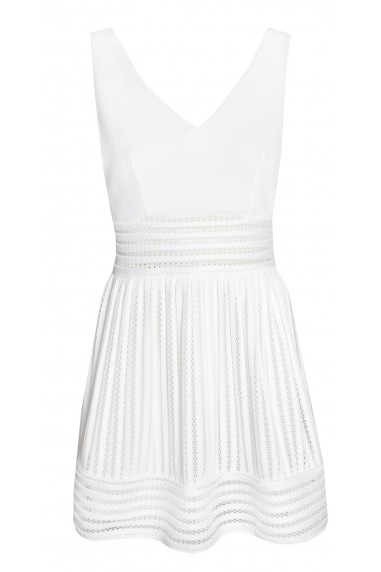 TFNC Marella White Dress