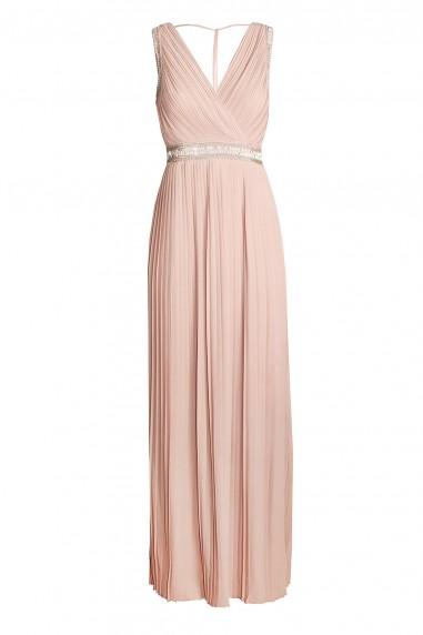 TFNC Linda Nude Maxi Dress