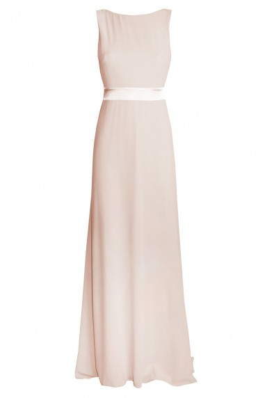 TFNC Halannah Nude Maxi Dress
